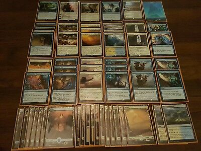 MTG MAGIC THE GATHERING Blue / white approach control standard complete decklist