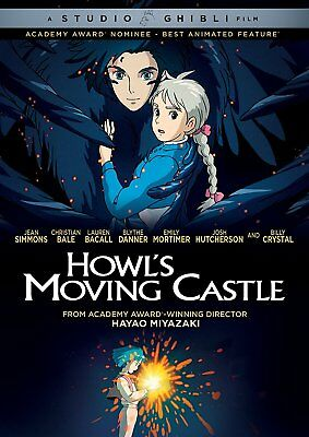 Howl's Moving Castle DVD by Hayao Miyazaki ( 2017)