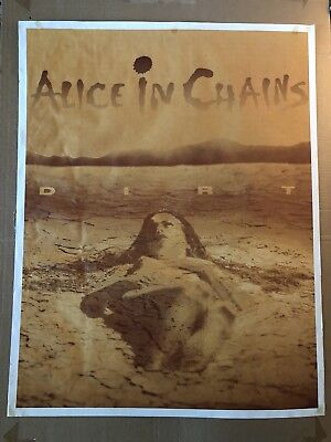 Alice In Chains Dirt Rare Vintage Original Poster