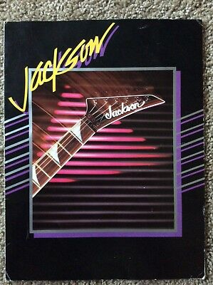 RARE Vintage Version #2 Jackson guitar 1986 Catalog