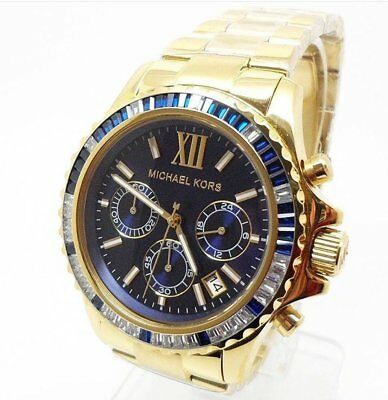 296995838971 MICHAEL KORS MID-SIZE Everest Chronograph Glitz MK5754 Wrist Watch ...
