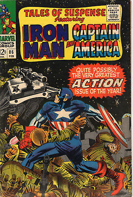 Tales of Suspense #86 February 1967 (6.0)