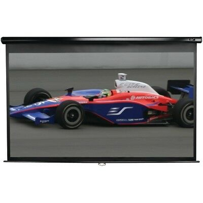 """Elite Screens M100H 100"""" Manual Pull-down B Series Projection Screen (16:9 forma"""