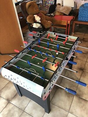 4FT Foosball Table Soccer Game Indoor School Family Sports Kids Toy Chidren Gift