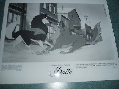 """balto"" Animated  1995 Original Still Set!"
