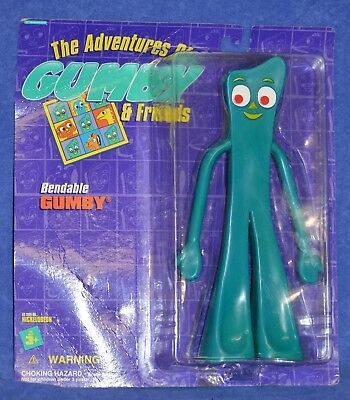 "New In Package Vintage 1995 Trendmasters Bendable Gumby – Large (10 ½"")"