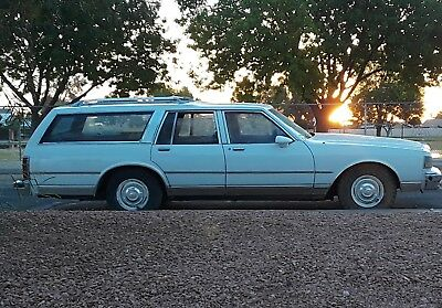 1988 Chevrolet Caprice V8 Rust Free ORIGINAL Ran When Parked Barn Find Gramdma's 1988 Caprice Classic wagon low mile NO RUST