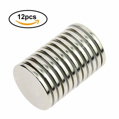 N52 Strong Neodymium Rare Earth NdFeB Round Thin Magnets Disc for Craft 32 x 3mm