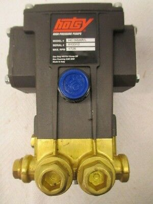 "Hotsy Pressure Washer Pump HC165AR/L  1725 Rpm 1500 Psi 5/8"" Hollow Shaft"