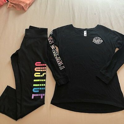 justice girls size 12 Outfit