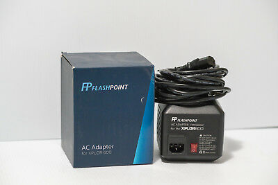 Flashpoint AC Adapter Unit for the XPLOR 600 Monolight FP-PS-X600 FPPPX600AC