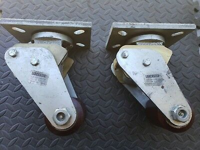 Larcaster Heavy Duty Forklift Spring Casters