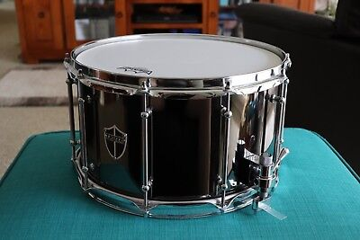 Truth Drums 14X8 Black Brass Snare