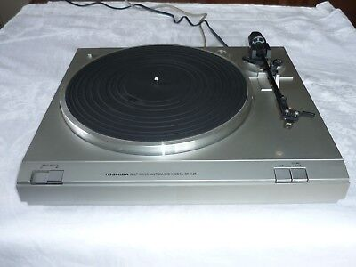 Vintage Toshiba SR-A26 Belt Drive Semi Automatic Turntable Record Player