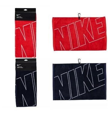 NIKE TOWEL - Face Fitness Gym Sweat Golf Sport towel - 100% Cotton