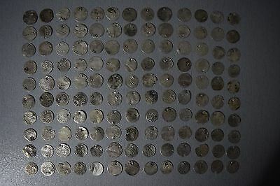 LOT of 130pcs SILVER OTTOMAN TURKISH TURKEY ISLAMIC ARABIC AKCE AKCHE COINS RARE