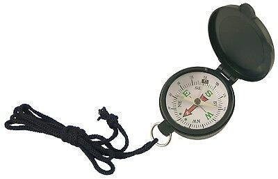 Generic Black Compass with Lid Diameter 4.5 cm. generique. Shipping is Free