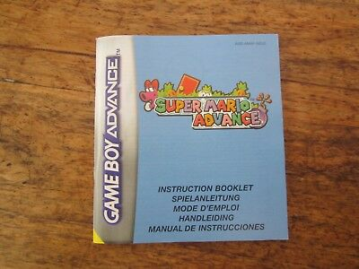 Super Mario Advance Plus Super Mario 2 Plus Mario Bros Box And Manual
