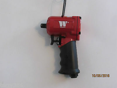 "WELZH WERKZEUG 1/2"" Stubby Air Impact Wrench. ONLY 112MM LONG,800Nm of TORQUE.."