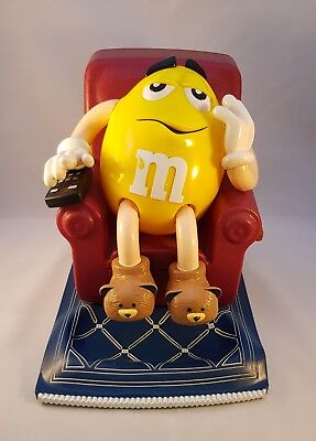 M & M's Yellow Dispenser Reclining Couch 2000