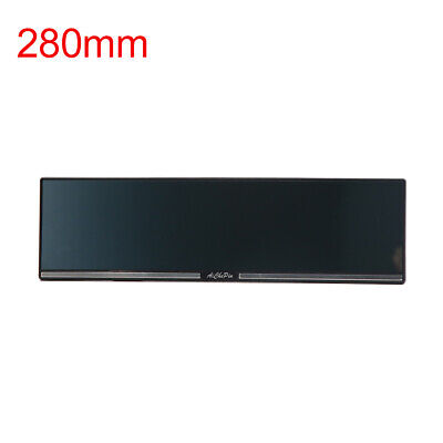 280mm White Glass Flat Panoramic Wide Angle Rear View Mirror for Car Interior