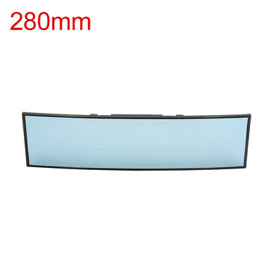 280mm Blue Glass Curved Convex Wide Angle Rear View Mirror for Car Interior