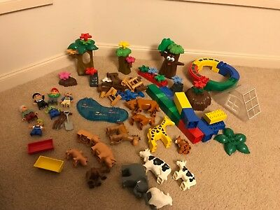 Lego Duplo People, animals and accessories