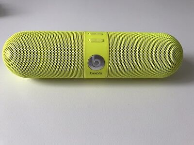 beatspill by dr.dre neon gelb - limited edition