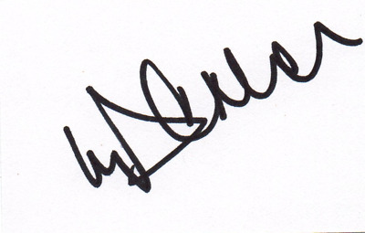 Michael Vaughan signed cricket card, England test cricket legend (Ashes)