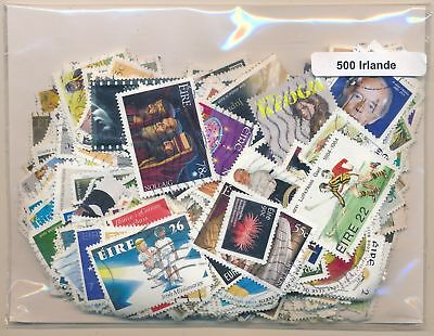 Ireland US Package 500 stamps different