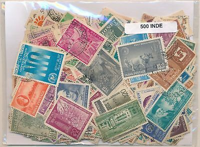 India US Package 500 stamps different