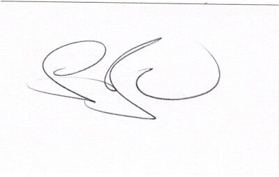 Stuart Broad Signed Cricket White Card, England Test Cricketer, Ashes
