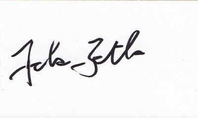 Johan Botha Signed Cricket White Card, South African Test Cricketer