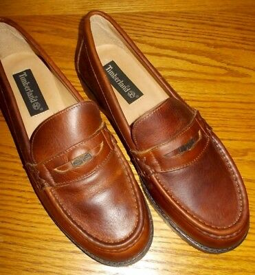 83db6f936c7 WOMEN S TIMBERLAND LEATHER Penny Loafer Shoes (size 8) New in Box ...