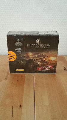 Panini World of Tanks Trading Cards 1 x Display / 24 Booster