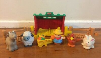 Fisher Price Little People Baby Farm Animals Play Set