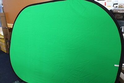 Polaroid Collapsible Background - 5' x 7' (Green/Blue)