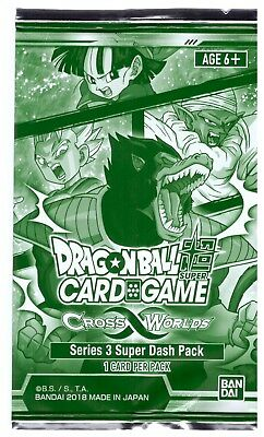 Dragonball Super Card Game Cross Worlds Promo Series 3 Super Dash Pack Sealed