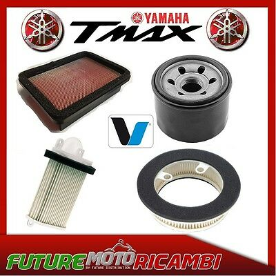 Replacement Filter Kit Air + Oil Yamaha T-Max 530 2012 2013 2014 2015 2016