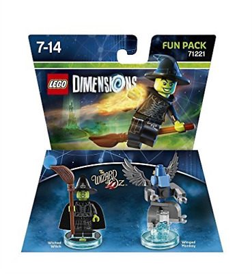 Toys-Lego Dimensions: Fun Pack - Wizard of Oz Wicked Witch of the Wes GAME NUEVO