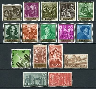Spain Year 1959 complete / Photo generic new free stamp hinges