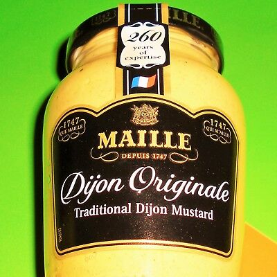 MAILLE Dijon Originale 215g French Mustards Honey Honig Senf €1.39/100g