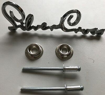 Body Press Stud Part and Rivet for Silver Cross Coach Built Pram Spares