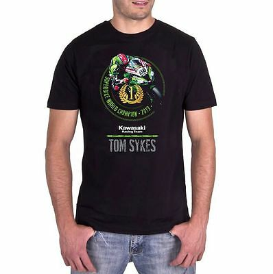 Kawasaki Shirt Tom Sykes celebration SBK World Champion Weltmeister original