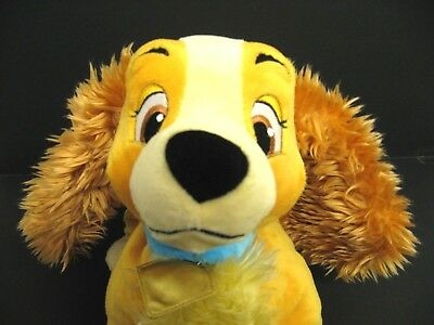 Lady & the Tramp Soft Toy Disney Store Exclusive Lady Plush Spaniel Dog Toy Mint