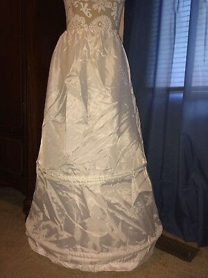 Ladies Civil War Renaissance Petticoat Skirt Slip Hoop 2-Bone ~ Gunne Sax