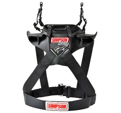 Simpson Hybrid Sport FHR System Hans type Device FIA Approved - QR Adult XSmall