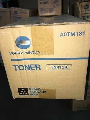 Genuine Konica Minolta BIZHUB C452 Black Toner Cartridge TN413K A0TM131