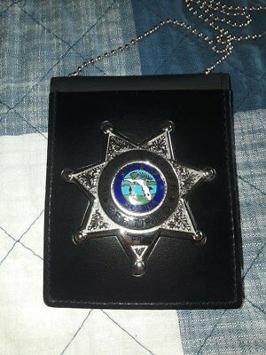 Florida Certified Process Server Badge - New - With Fl Seal Smith & Warren