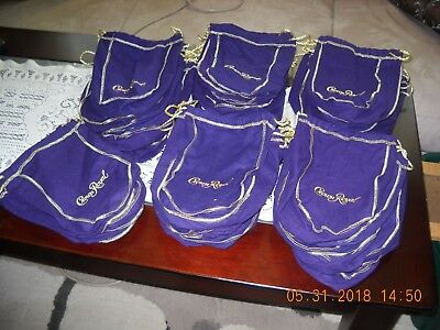 Lot of 54 Crown Royal Bags